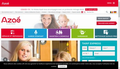 Site internet de Azae Chambery