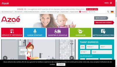 Site internet de Azae Oise