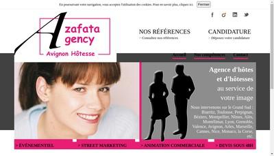 Site internet de Azafata-Agency