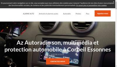Site internet de Az Autoradio