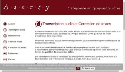 Site internet de Azerty