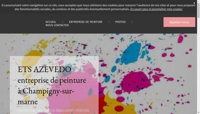 Site internet de Entreprise de Azevedo
