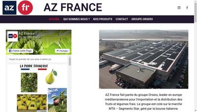 Site internet de Az