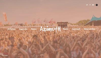 Site internet de Azimuth Productions