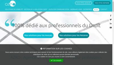 Site internet de Azko