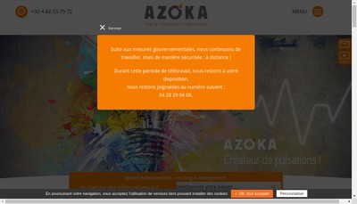 Site internet de Azoka