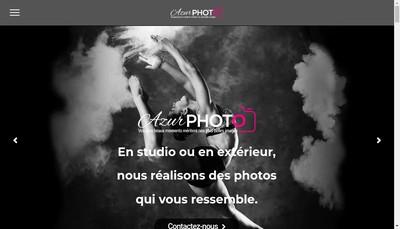 Site internet de Azur Photo