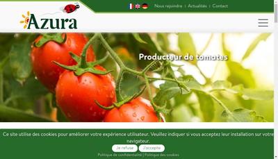 Site internet de Societe de Distribution de Produits Maraichers et Horticoles du Maroc