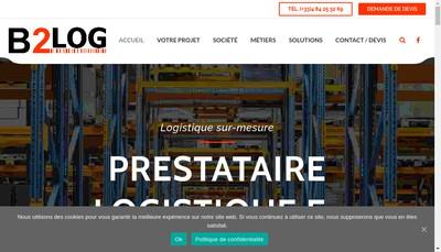 Site internet de B2Log
