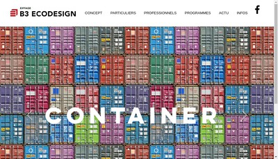 Site internet de B3 Ecodesign