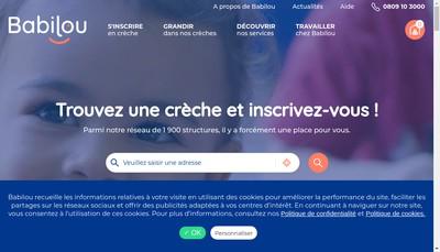 Site internet de Babilou Group