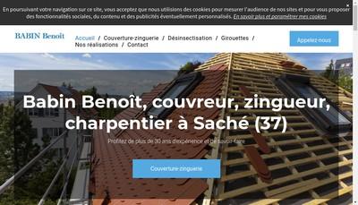 Site internet de SARL Babin Benoit
