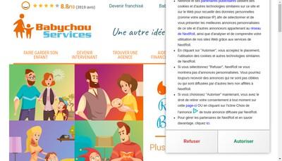 Site internet de Les Galopins Services
