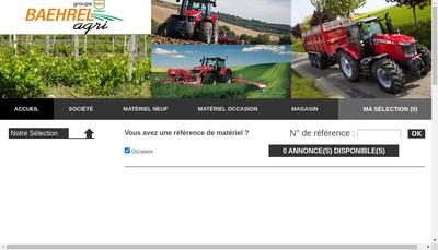 Site internet de Baehrel Agri