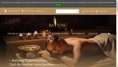 Site internet de Baitong Thairelaxation