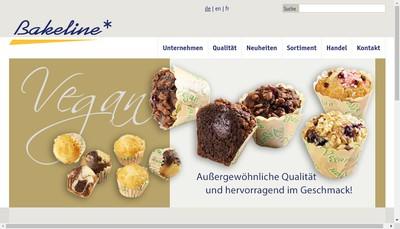 Site internet de Bakeline