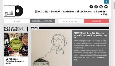 Site internet de La Fabrique Balades Sonores-le Label Balades Sonores-les Concerts Balades Sonores