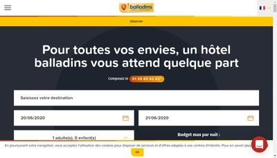 Site internet de Dynamique Hotels Management