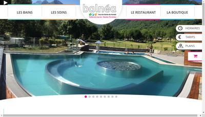 Site internet de Balnea
