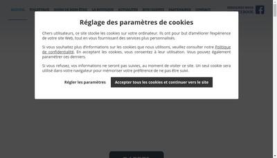 Site internet de Balneadog