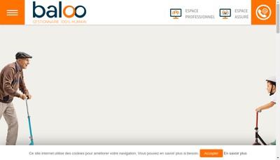 Site internet de Baloo