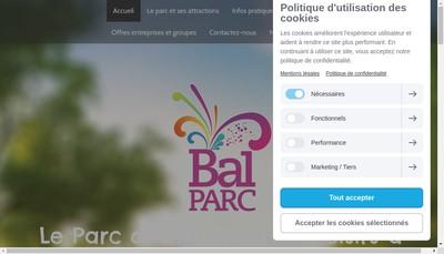 Site internet de BAL PARC