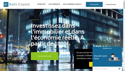Site internet de Baltis Capital