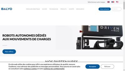 Site internet de Balyo