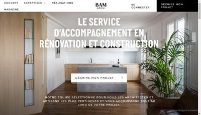 Site internet de Because Architecture Matters