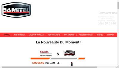 Site internet de Bamitel