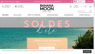 Site internet de Banana Moon