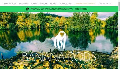 Site internet de Banana Rods