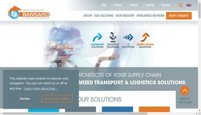 Site internet de Financiere Bansard International