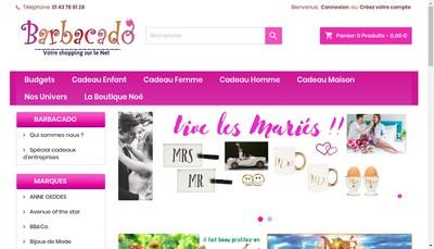 Site internet de Barbacado