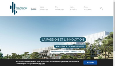 Site internet de Barbanel