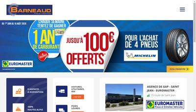 Site internet de Cote Route Barneaud