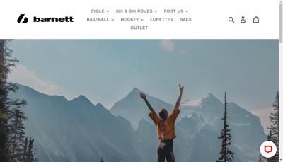 Site internet de Barnettsports Com