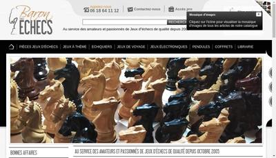 Site internet de Baron des Echecs