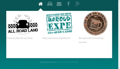 Site internet de Baroud'Land