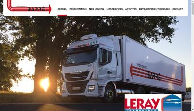 Site internet de Transports Barre
