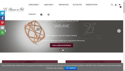 Site internet de Barrier et Fils
