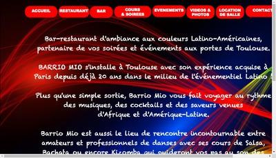 Site internet de Barrio Mio