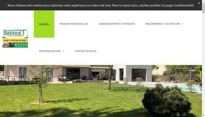 Site internet de EURL Barruet Thibault