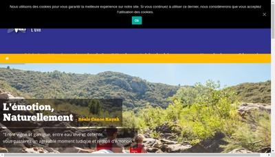 Site internet de Reals Canoe Kayak