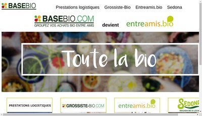 Site internet de Base Bio