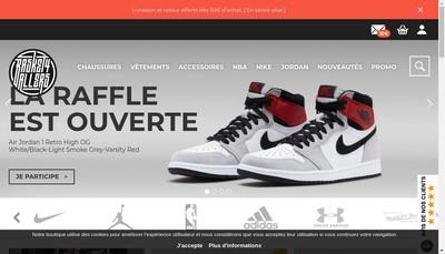 Site internet de Basket4Ballers