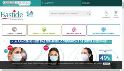 Site internet de Bastide Management