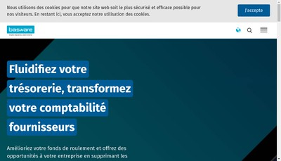 Site internet de Basware SAS