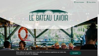 Site internet de Bateau Lavoir