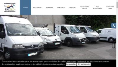 Site internet de Bateco